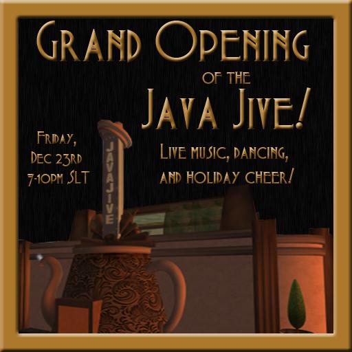 Java Jive Grand Opening