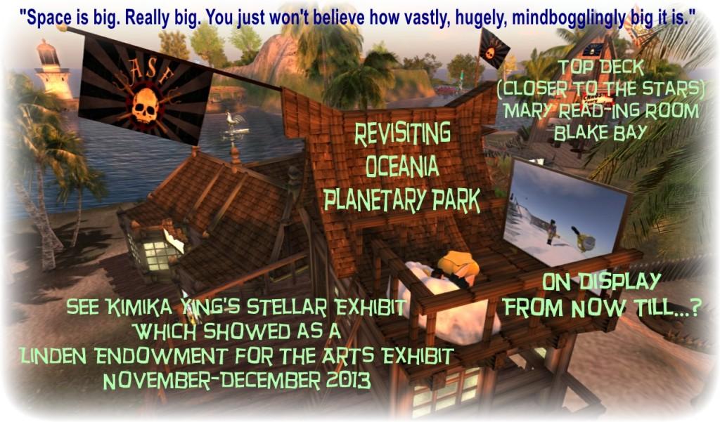 Oceania Planetary Walk Poster