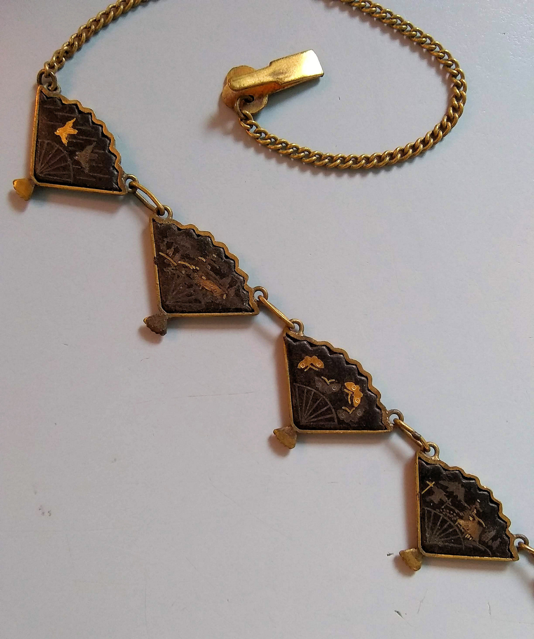 Damascene Necklace