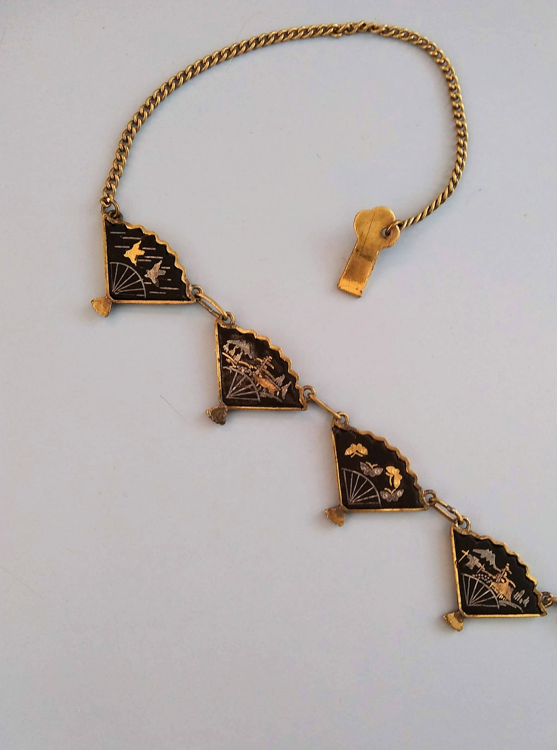 Restored Damascene Necklace